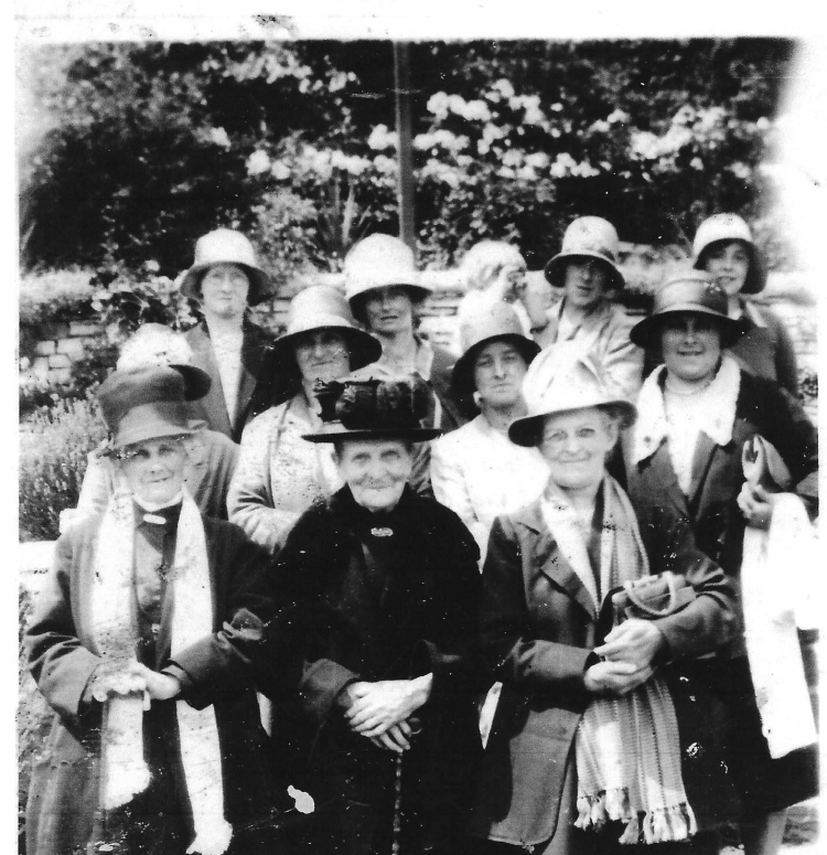 Residents of Treoes at the turn of the Century, thanks to Gwyneth Jones for the photo