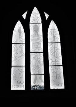Roper Window, Saint Crallo's Church, Coychurch