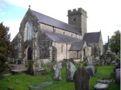 Saint Crallo's church, Coychurch