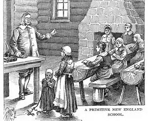 Depiction of schools during the 17th Century