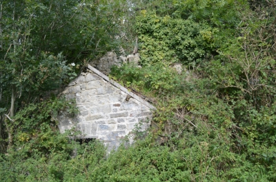 The remains of the Corn Mill at Ty Candy