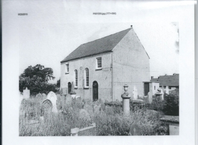 Saron Chapel in the 1950s